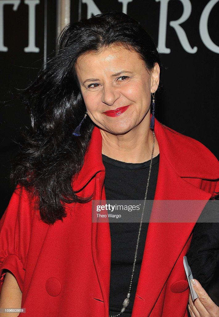 Tracey Ullman attends the 'Cat On A Hot Tin Roof' Broadway Opening Night at Richard Rodgers Theatre on January 17, 2013 in New York City.