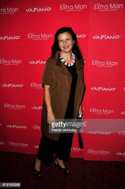 Tracey Ullman attends Vapiano hosts the New York Premiere of THE EXTRA MAN red carpet arrivals and afterparty at Village East Cinema and Vapiano NYC...