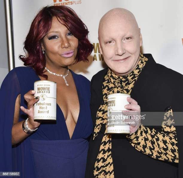 Traci Braxton and James St James attends the 13th Annual WOWie Awards presented by World of Wonder Productions at The WOW Presents Space on December...