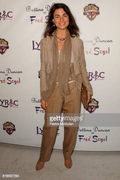 Traci Dinwiddie attend Lyric Culture Launches It's Nude Collection At Bettina Duncan at Fred Segal on August 10th 2010 in Santa Monica California