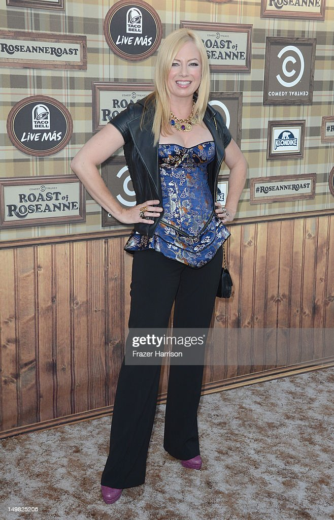 Traci Lords arrives at the Comedy Central Roast of Roseanne Barr at Hollywood Palladium on August 4, 2012 in Hollywood, California.