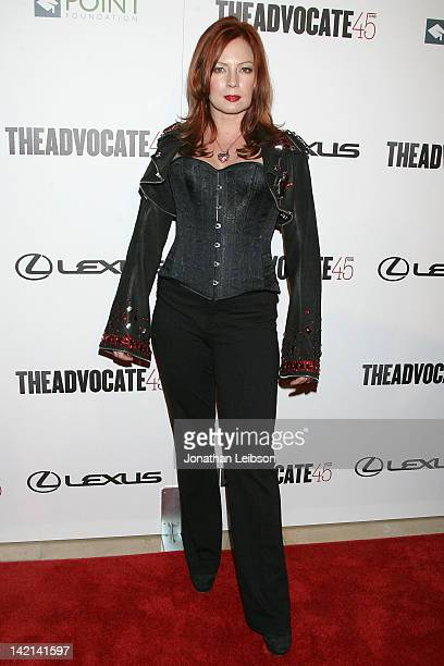 Traci Lords arrives to the The Advocate 45th Anniversary Celebration Benefiting The Point Foundation at The Beverly Hilton Hotel on March 29 2012 in...