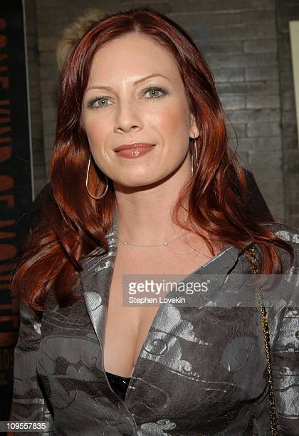 Traci Lords during 'Metallica Some Kind of Monster' New York Premiere Arrivals at Loews 19th Street Theatre in New York City NY United States