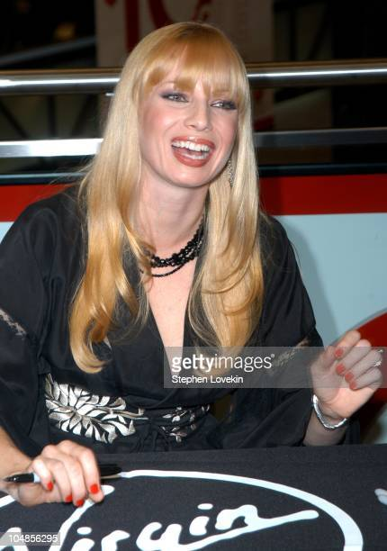 Traci Lords during Traci Lords Signs Copies of Her New Book 'Underneath It All' at Virgin Mega Store Union Square in New York City New York United...