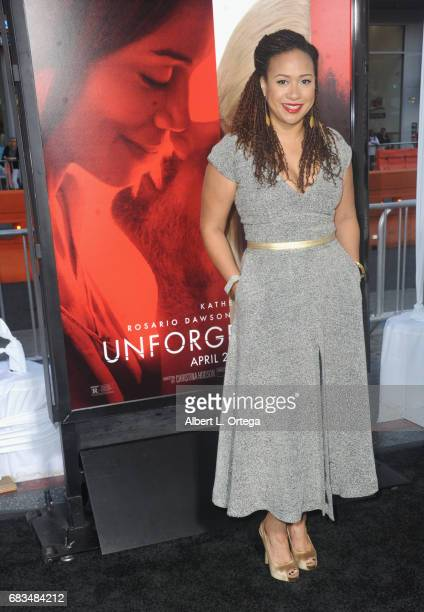 Tracie Thoms arrives for the Premiere Of Warner Bros Pictures' 'Unforgettable' held at TCL Chinese Theatre on April 18 2017 in Hollywood California