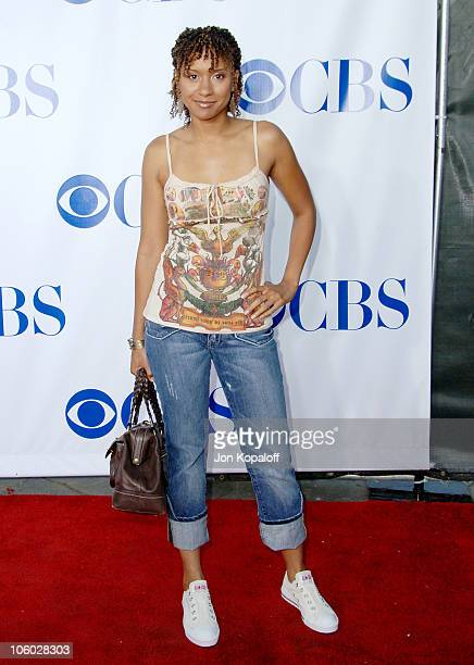 Tracie Thoms during CBS 2006 TCA Summer Press Tour Party at Rosebowl in Pasadena California United States