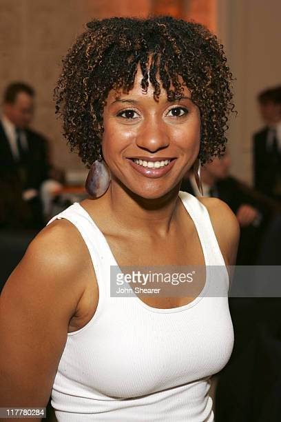 Tracie Thoms during MercedesBenz 2006 Oscar Viewing Party at Four Seasons Hotel in Beverly Hills California United States