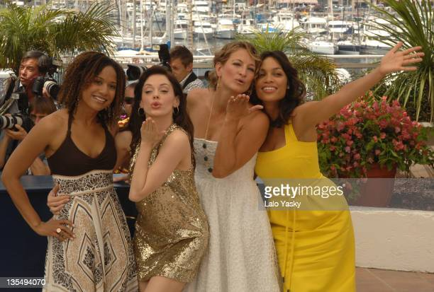 Tracie Thoms Rose McGowan Zoe Bell and Rosario Dawson