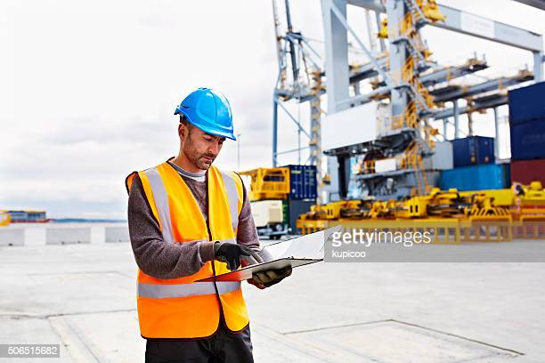 Tracing shipments on the dock