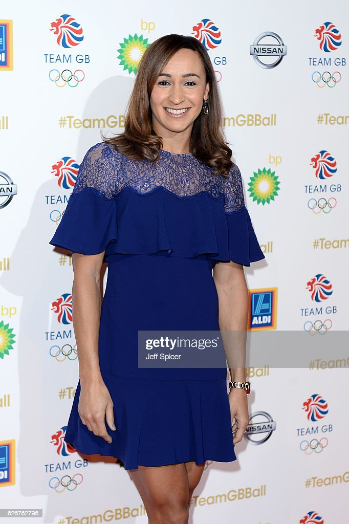 Track and field athlete Jessica Ennis-Hill attends the Team GB Ball at Battersea Evolution on November 30, 2016 in London, England.