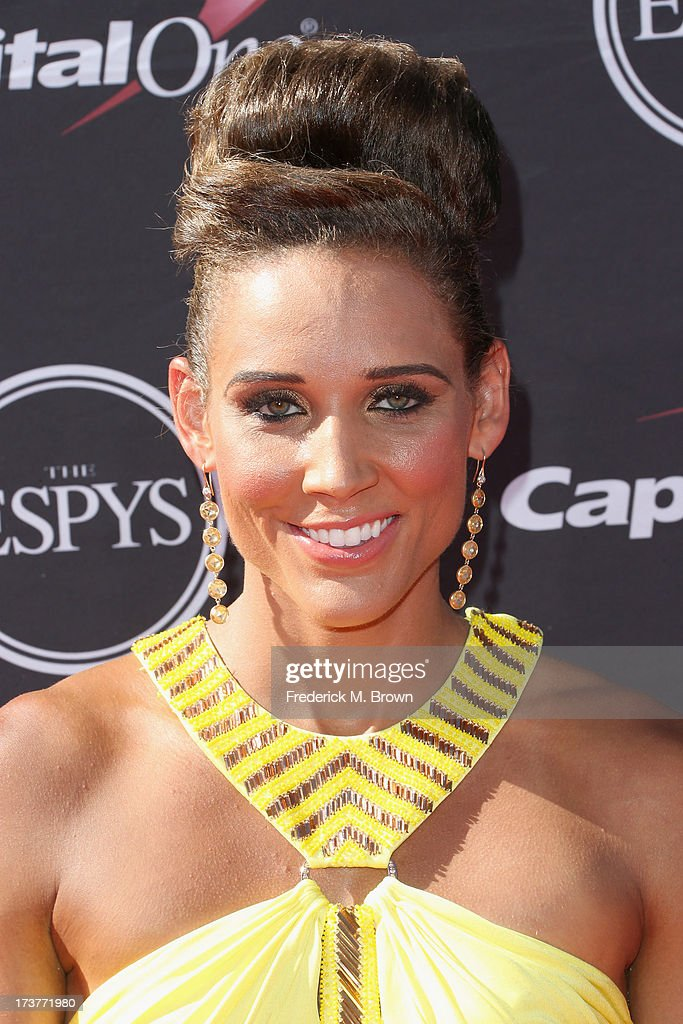 Track and field athlete Lolo Jones attends The 2013 ESPY Awards at Nokia Theatre L.A. Live on July 17, 2013 in Los Angeles, California.