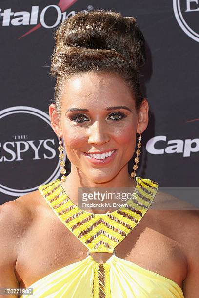 Track and field athlete Lolo Jones attends The 2013 ESPY Awards at Nokia Theatre LA Live on July 17 2013 in Los Angeles California