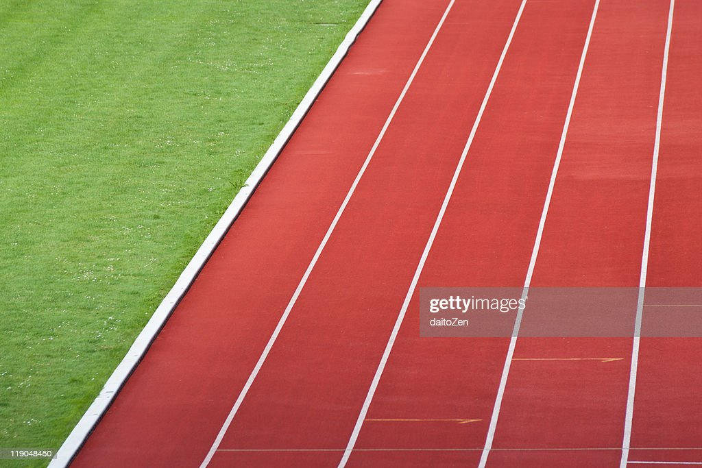 Track and field : Stock Photo