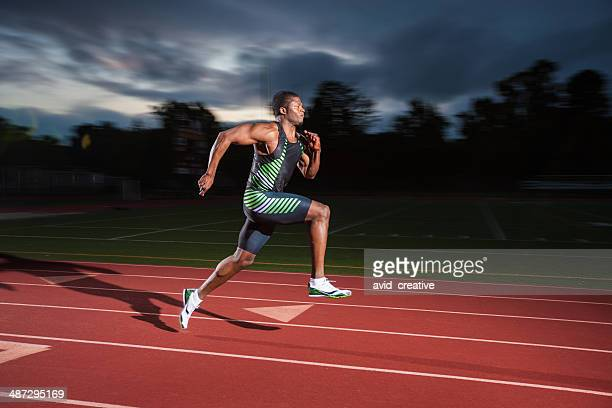 Track and Field Sprinter