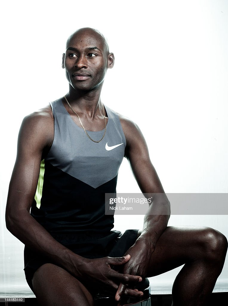 Track athlete, Bernard Lagat, poses for a portrait during the 2012 Team USA Media Summit on May 14, 2012 in Dallas, Texas.