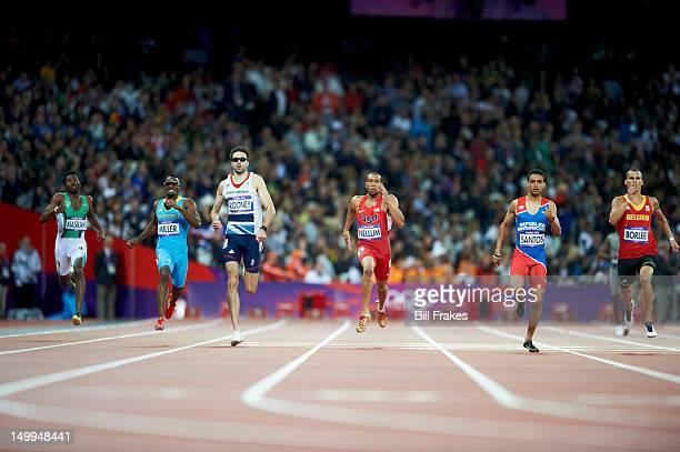 2012 Summer Olympics Saudi Arabia Yousef Ahmed Masrahi Bahamas Ramon Miller Great Britain Martyn Rooney USA Bryshon Nellum Dominican Republic...