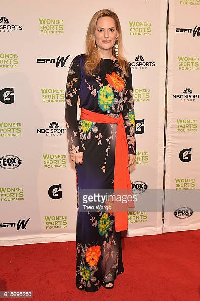 Track Field Athlete Aimee Mullins attends the 37th Annual Salute To Women In Sports Gala at Cipriani Wall Street on October 19 2016 in New York City