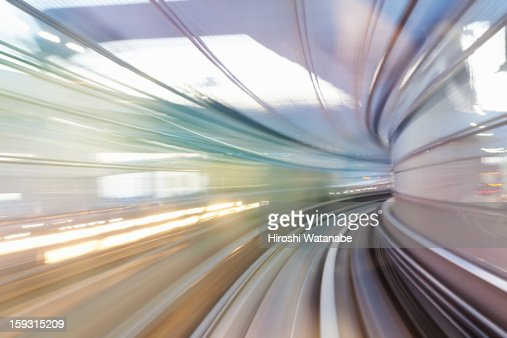 Tracks of a train : Stock Photo