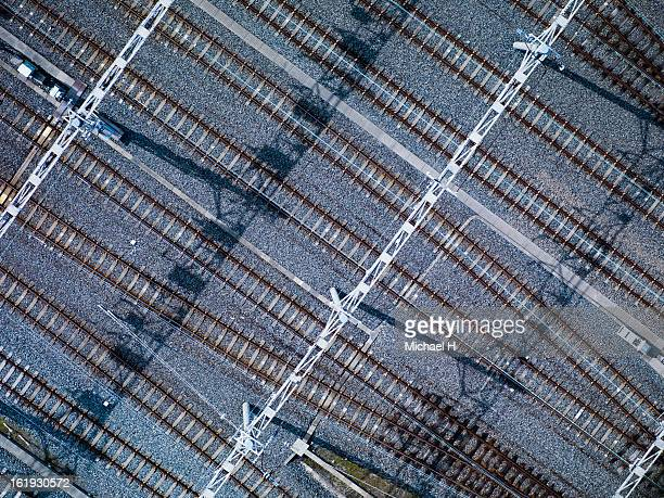Tracks of Train