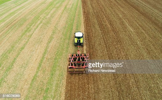 Tractor and Cultivator