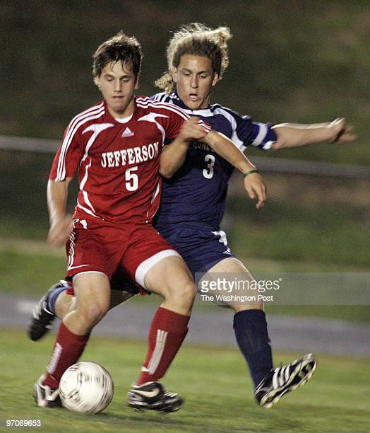 Tracy A Woodward/The Washington Post Thomas Jefferson High School 6560 Braddock Rd Alexandria VA Boys' Soccer Stone Bridge at Thomas Jefferson High...
