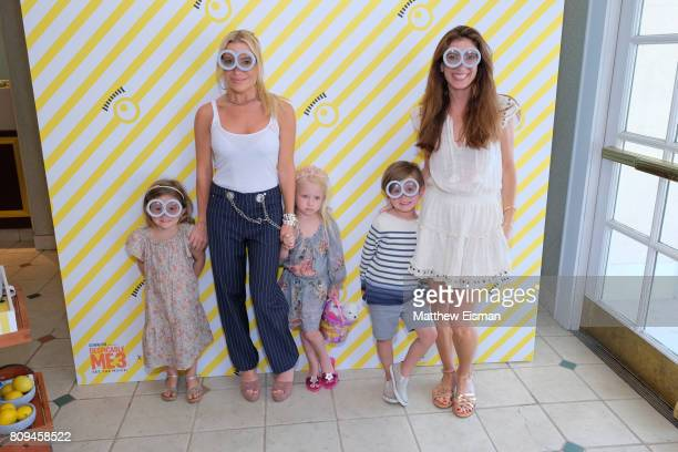 Tracy Anderson and guests attend a screening of Despicable Me 3 hosted by Gwyneth Paltrow and goop at Southampton Movie Theatre on July 5 2017 in...