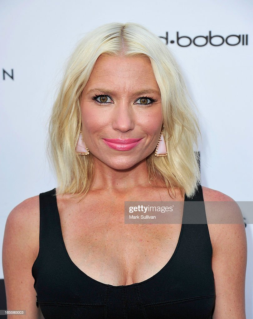 Tracy Anderson attends the opening of Tracy Anderson flagship studio at Tracy Anderson Flagship Studio on April 4, 2013 in Brentwood, California.