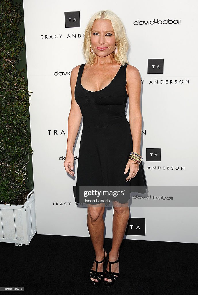 Tracy Anderson attends the opening of Tracy Anderson Flagship Studio on April 4, 2013 in Brentwood, California.