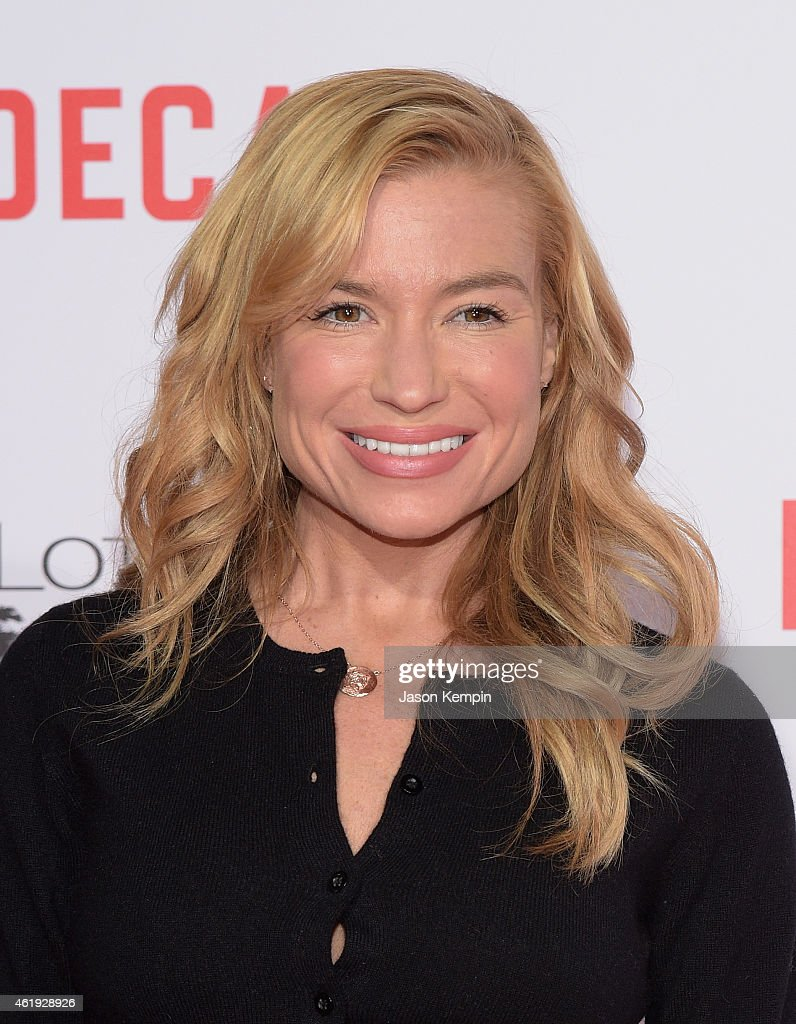 Tracy Anderson attends the premiere of Lionsgate's 'Mortdecai' at TCL Chinese Theatre on January 21 2015 in Hollywood California