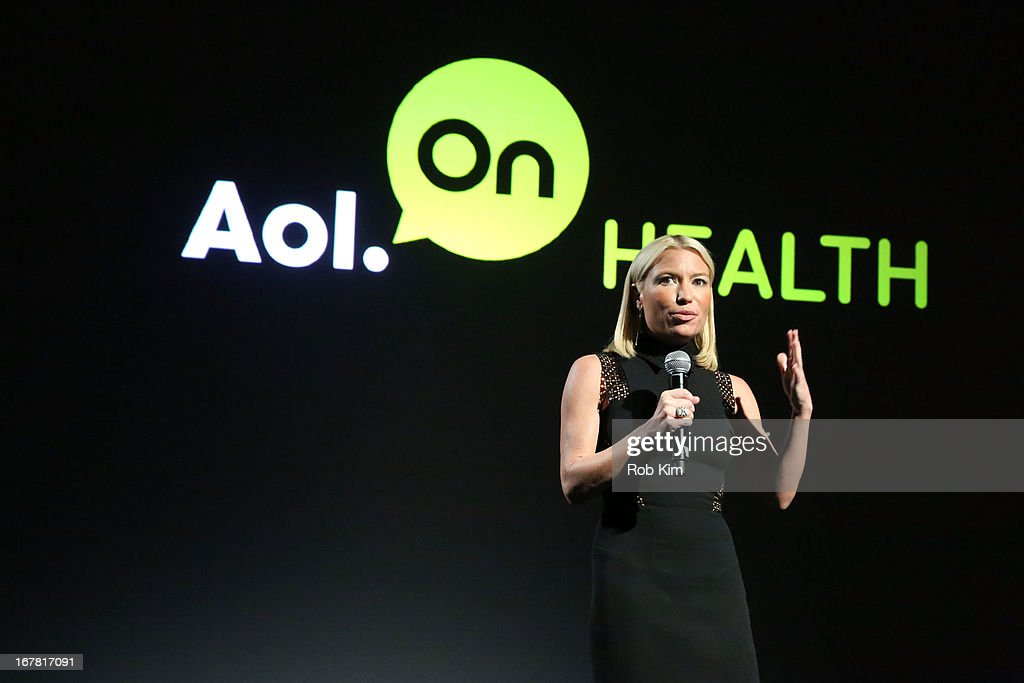Tracy Anderson speaks onstage at the AOL 2013 Digital Content NewFront on April 30, 2013 in New York City.
