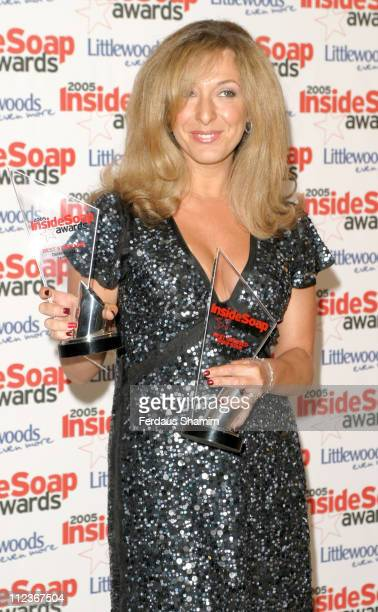 Tracy Ann Oberman during 2005 Inside Soap Awards at Floridita in London Great Britain