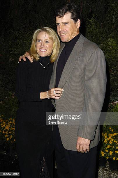 Tracy Austin and husband Scott Holt during 3rd Annual ' An Enduring Vision ' Fundraiser Arrivals at Pelican Hill Golf Club in Newport Beach...