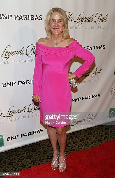 Tracy Austin attends the 2014 Legends Ball Red Carpet Presented by BNP Paribas at Cipriani 42nd Street on September 5 2014 in New York City