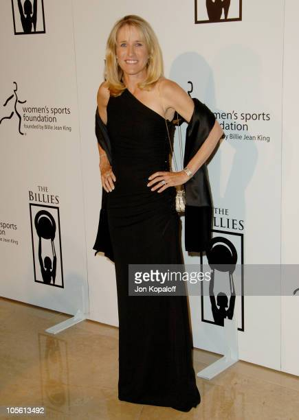 Tracy Austin during 1st Annual The Billies Awards Arrivals at Beverly Hilton Hotel in Beverly Hills California United States