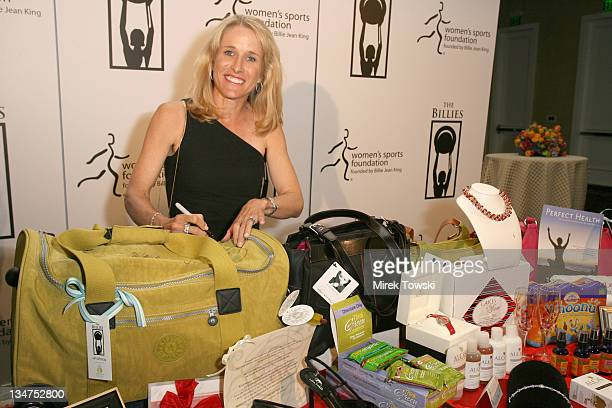 Tracy Austin during 1st Annual The Billies Awards honoring women in sports featuring gift bags by Klein Creative Communications at Beverly Hilton...