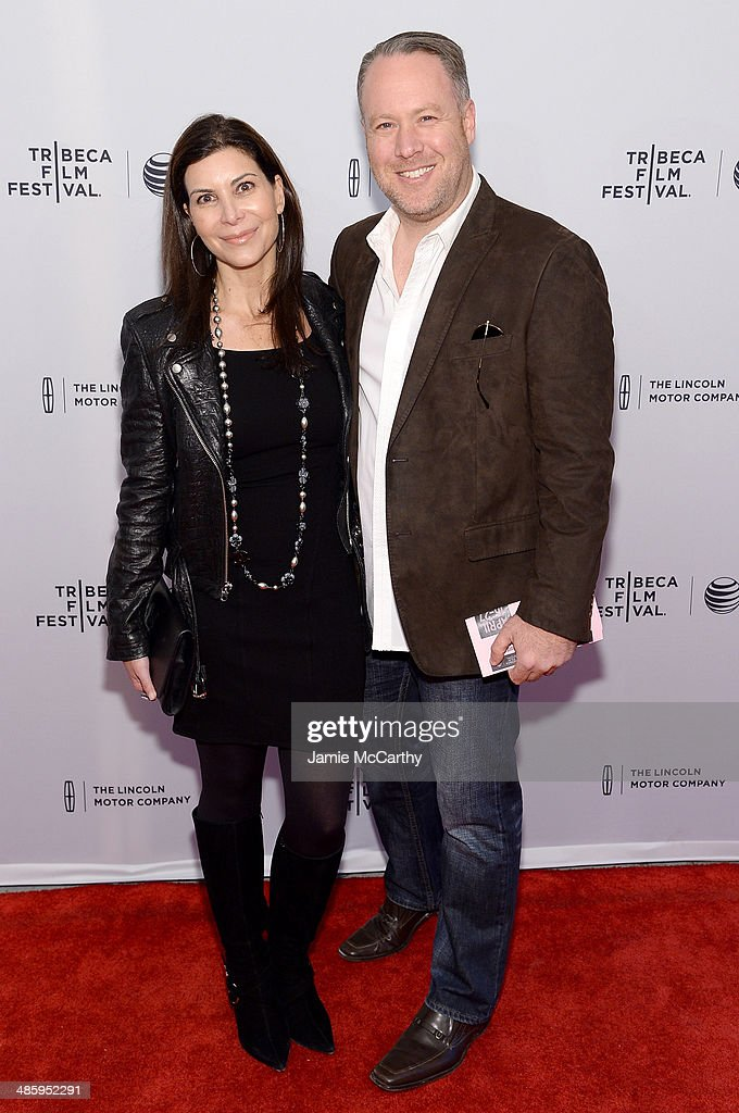Tracy Brenner and producer Eric Brenner attend the 'Miss Meadows' Premiere during 2014 Tribeca Film Festival at the SVA Theater on April 21, 2014 in New York City.