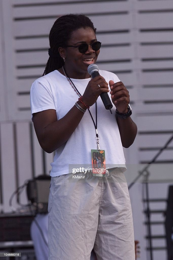 Tracy Chapman during One Love-The Bob Marley Tribute in Oracabessa Beach, Jamaica.