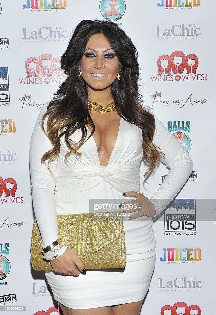 Tracy Dimarco attends 'Jerseylicious' Season 5 Premiere Party at Midtown Sutton on January 28, 2013 in New York City.