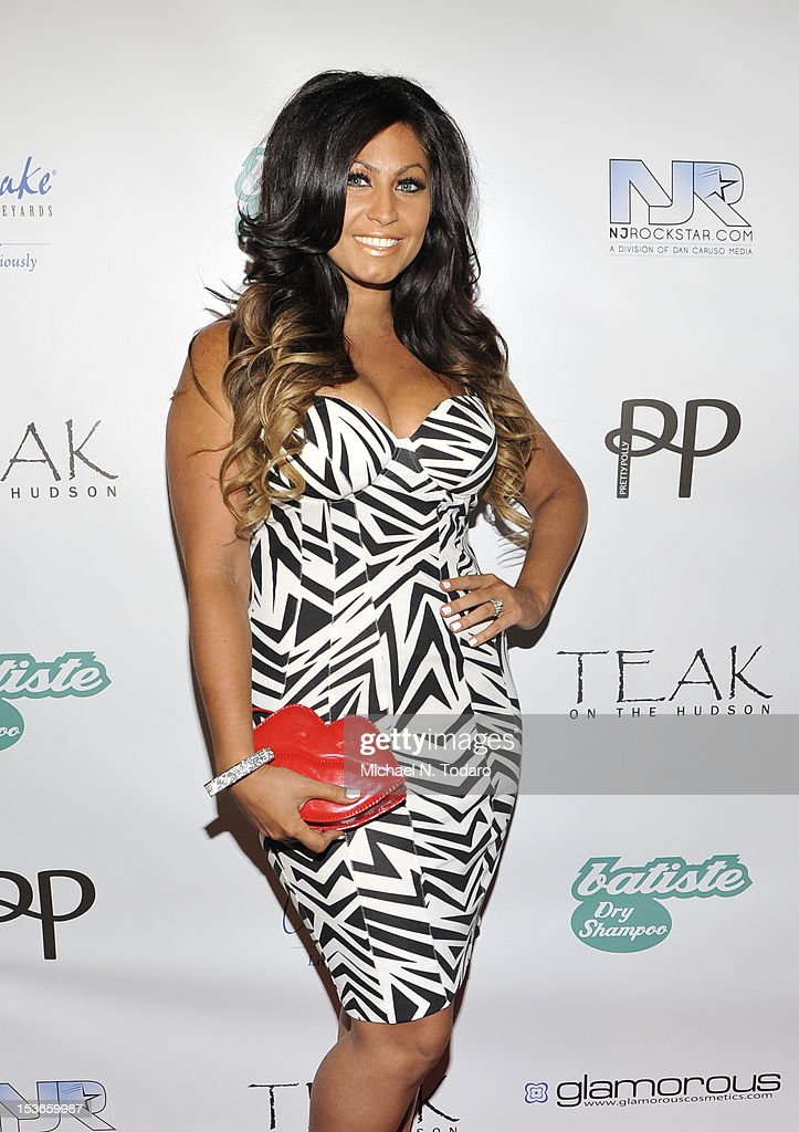 Tracy DiMarco attends the 'Glam Fairy' season 2 premiere party at Teak on the Hudson on October 7, 2012 in Hoboken, New Jersey.