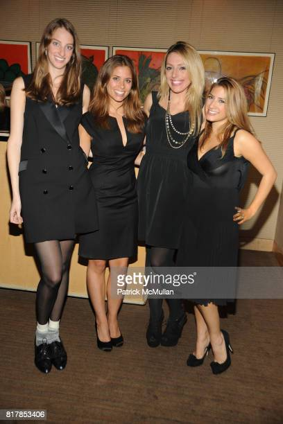 Tracy Eisenman Julia Smith Jacquie Storey and Dani Pogachefsky attend CHANEL and GQ Scent Dinner at Le Bernardin on October 7 2010 in New York City