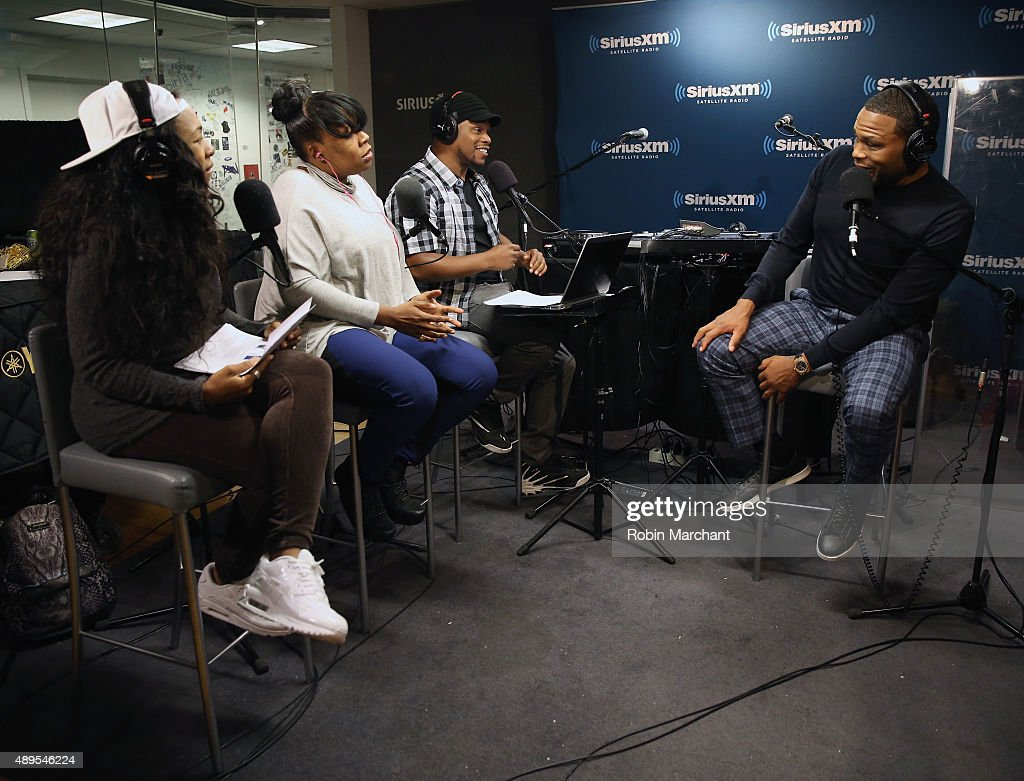 Tracy g heather b and anthony anderson on sway in the morning with