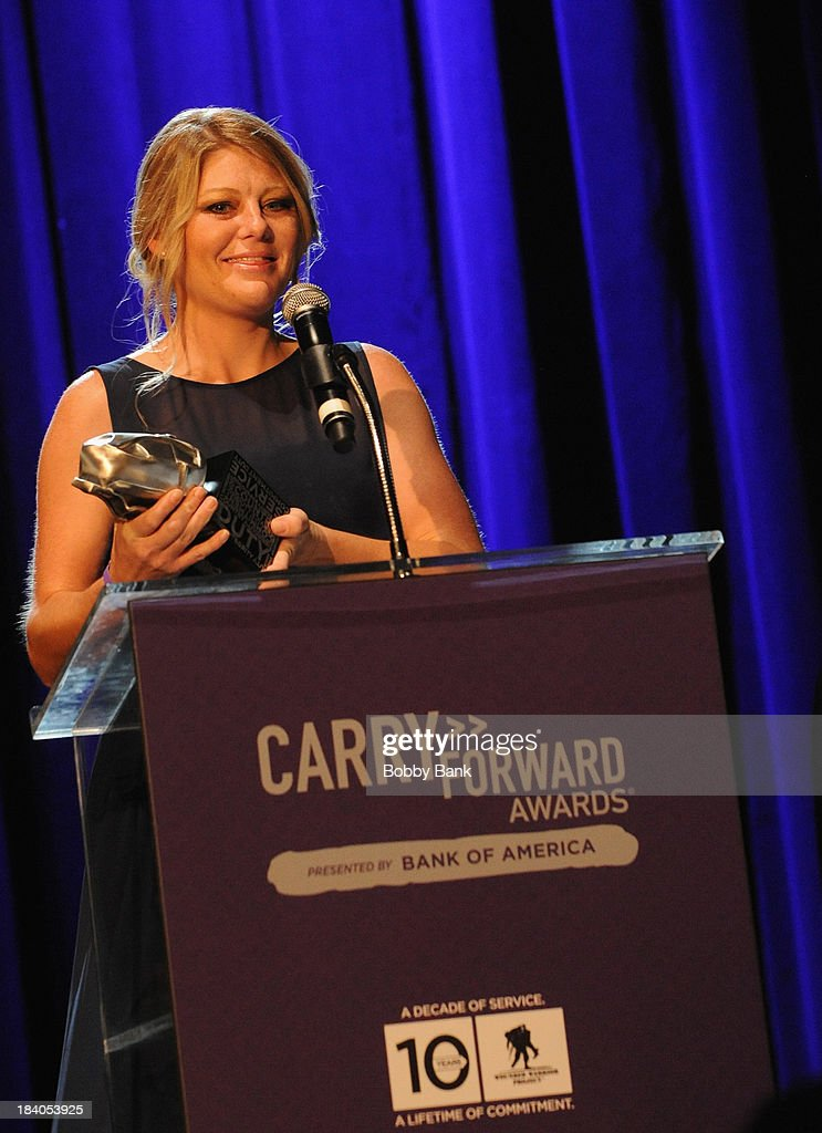 Tracy Keil attends the Wounded Warrior Project Carry Forward Awards Show at Club Nokia on October 10, 2013 in Los Angeles, California.