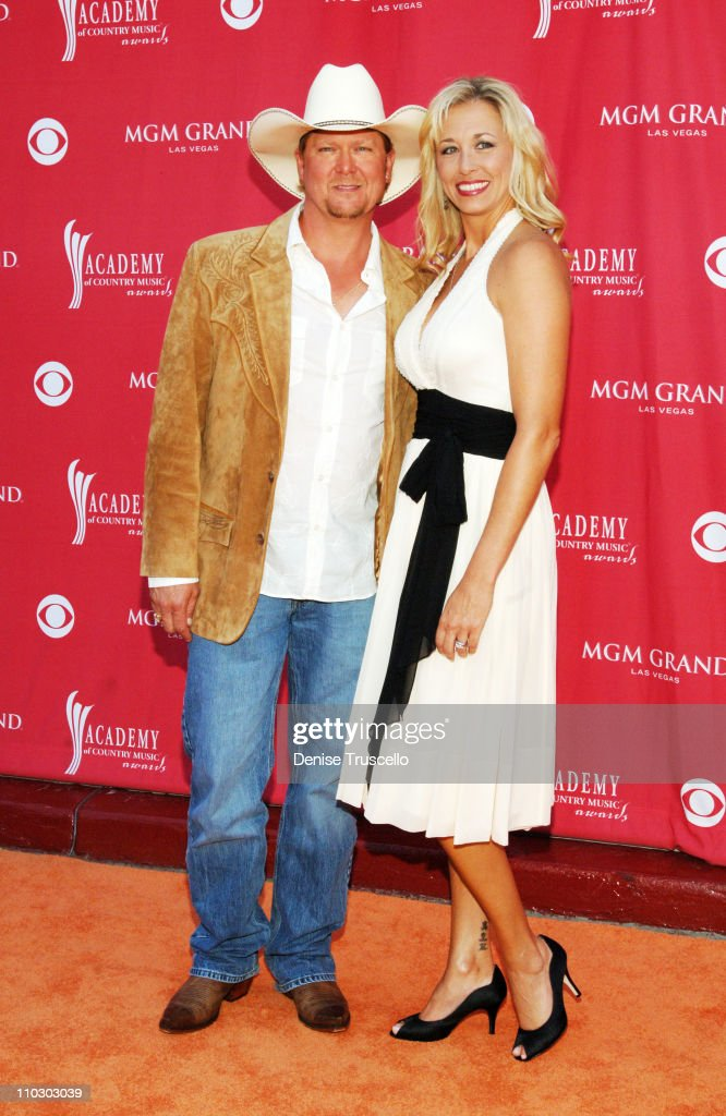 <a gi-track='captionPersonalityLinkClicked' href=/galleries/search?phrase=Tracy+Lawrence&family=editorial&specificpeople=217325 ng-click='$event.stopPropagation()'>Tracy Lawrence</a> and Becca Lawrence during 42nd Academy of Country Music Awards - Red Carpet at The MGM Grand Hotel and Casino Resort in Las Vegas, Nevada.