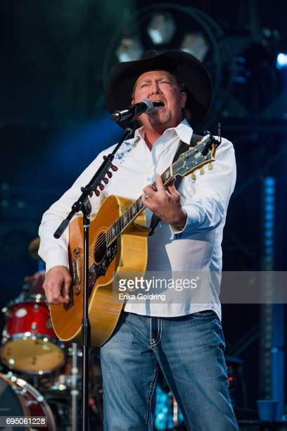 Tracy Lawrence performs during the 2017 CMA Music Festival on June 11 2017 in Nashville Tennessee