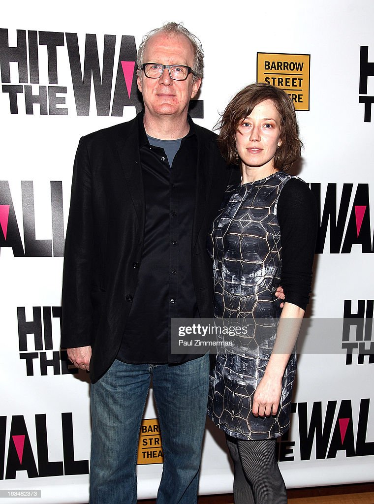 <a gi-track='captionPersonalityLinkClicked' href=/galleries/search?phrase=Tracy+Letts&family=editorial&specificpeople=4694707 ng-click='$event.stopPropagation()'>Tracy Letts</a> and Carrie Coon attend the 'Hit The Wall' Off Broadway opening night at the Barrow Street Theatre on March 10, 2013 in New York City.