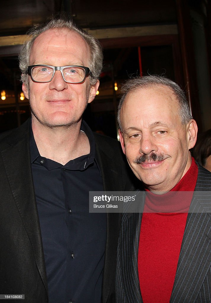 <a gi-track='captionPersonalityLinkClicked' href=/galleries/search?phrase=Tracy+Letts&family=editorial&specificpeople=4694707 ng-click='$event.stopPropagation()'>Tracy Letts</a> and Producer Jeffrey Richards attend the 'Who's Afraid Of Virginia Woolf?' Broadway Opening Night Afterparty at Bond 45 on October 13, 2012 in New York City.