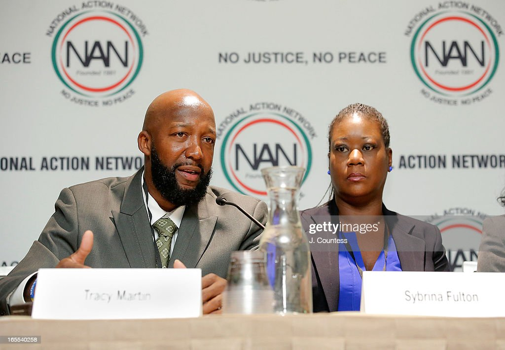 <a gi-track='captionPersonalityLinkClicked' href=/galleries/search?phrase=Tracy+Martin+-+Father+of+Trayvon+Martin&family=editorial&specificpeople=9075765 ng-click='$event.stopPropagation()'>Tracy Martin</a> and <a gi-track='captionPersonalityLinkClicked' href=/galleries/search?phrase=Sybrina+Fulton&family=editorial&specificpeople=9024062 ng-click='$event.stopPropagation()'>Sybrina Fulton</a>, parents of slain youth Trayvon Martin speak during the 'Crisis Panal: How Do We Deal And Organize Around Community Crisis' Panal during the 2013 NAN National Convention Day 2 at New York Sheraton Hotel & Tower on April 4, 2013 in New York City.