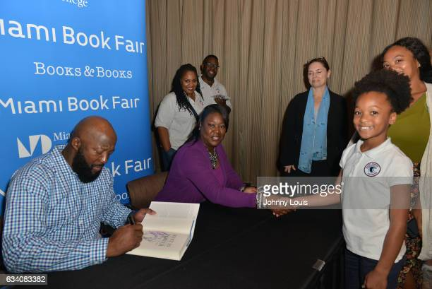 Tracy Martin and Sybrina Fulton speak and sign copies of their book 'Rest In Power The Enduring Life Of Trayvon Martin' at Miami Dade College on...