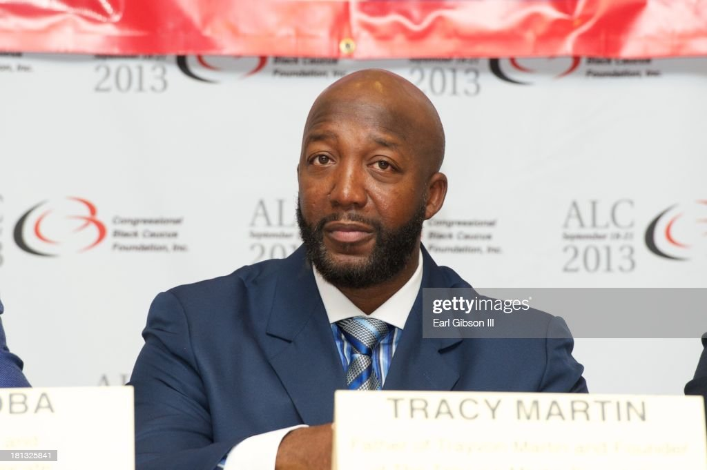 <a gi-track='captionPersonalityLinkClicked' href=/galleries/search?phrase=Tracy+Martin+-+Father+of+Trayvon+Martin&family=editorial&specificpeople=9075765 ng-click='$event.stopPropagation()'>Tracy Martin</a> (father of Trayvon Martin) serves as a panelist on a session entitled 'Saving Our Sons' Day 3 of the 43rd Annual Legislative Conference on September 20, 2013 in Washington, DC.