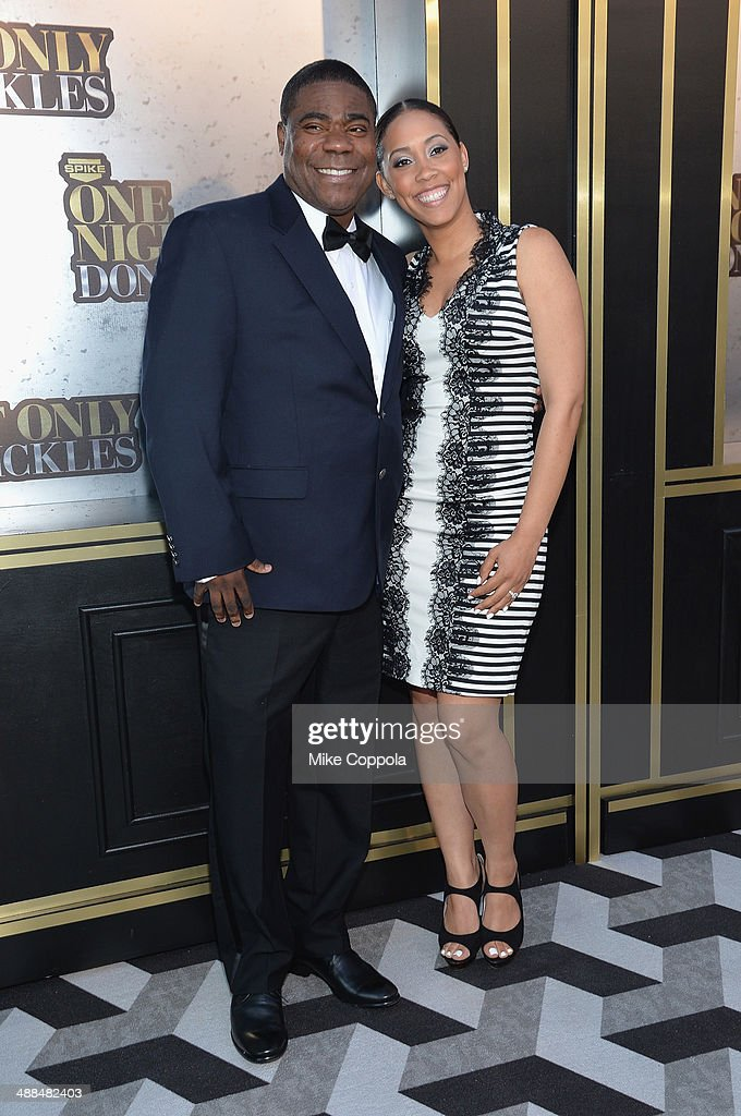 Tracy Morgan and Meghan Wollover attend the Spike TV's 'Don Rickles One Night Only' on May 6 2014 in New York City